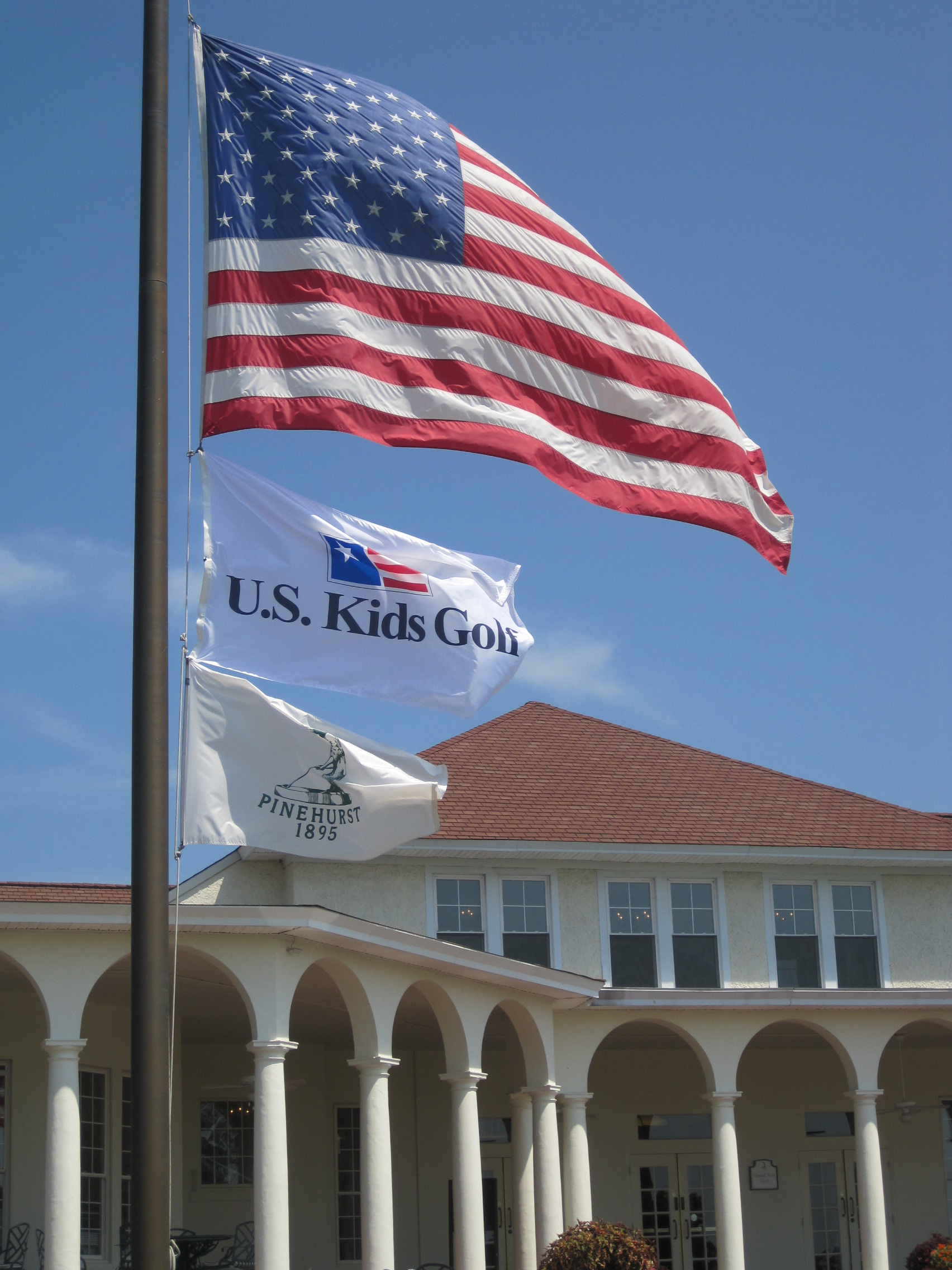 Pinehurst US Kids Flags