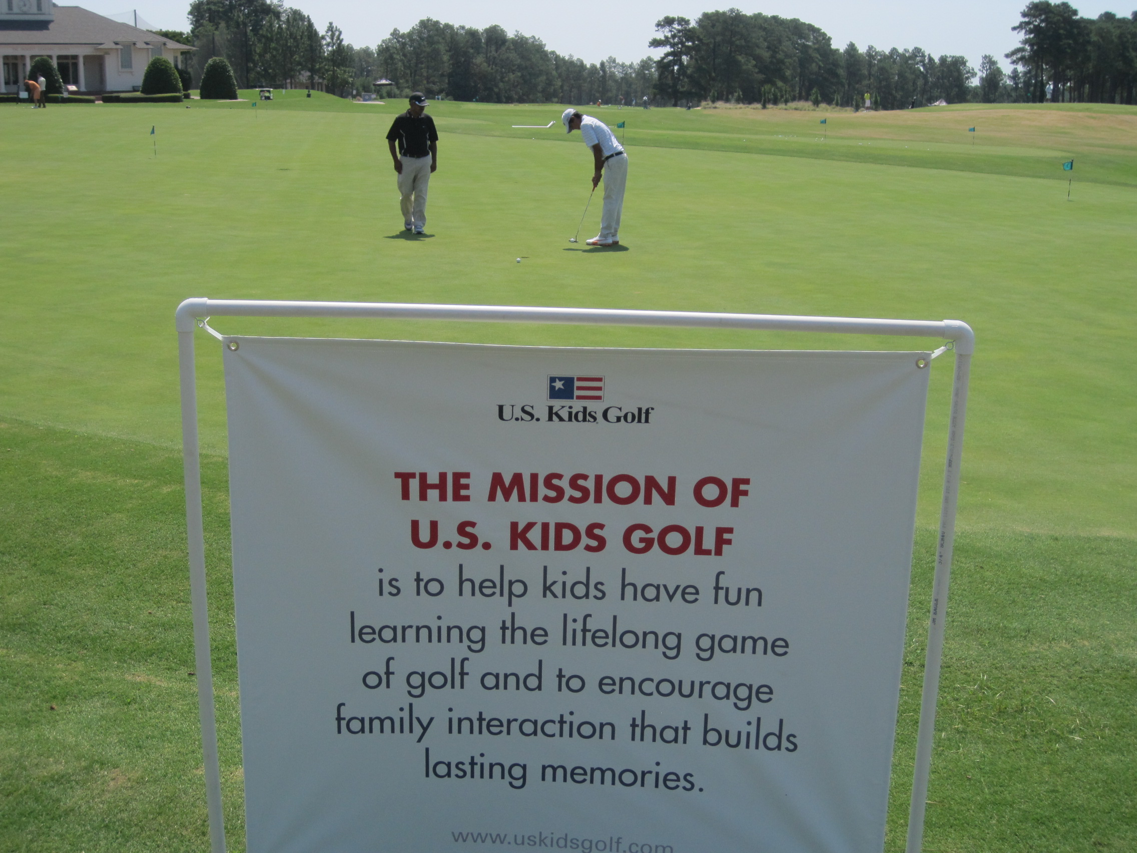 Pinehurst U.S. Kids Sign