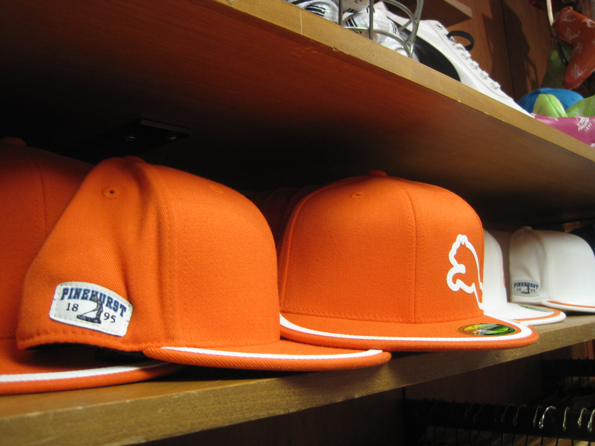 Pinehurst Club Shop Rickie Fowler