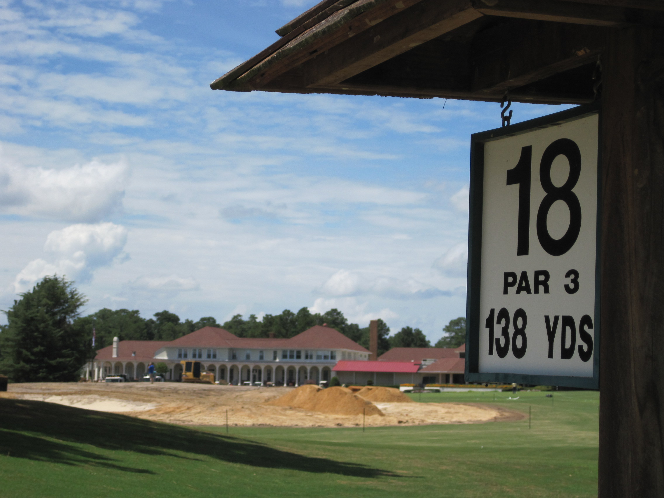 Formerly the 18th green for Pinehurst No. 1, the green will be the focal point of improvements to an already state-of-the-art practice facility.
