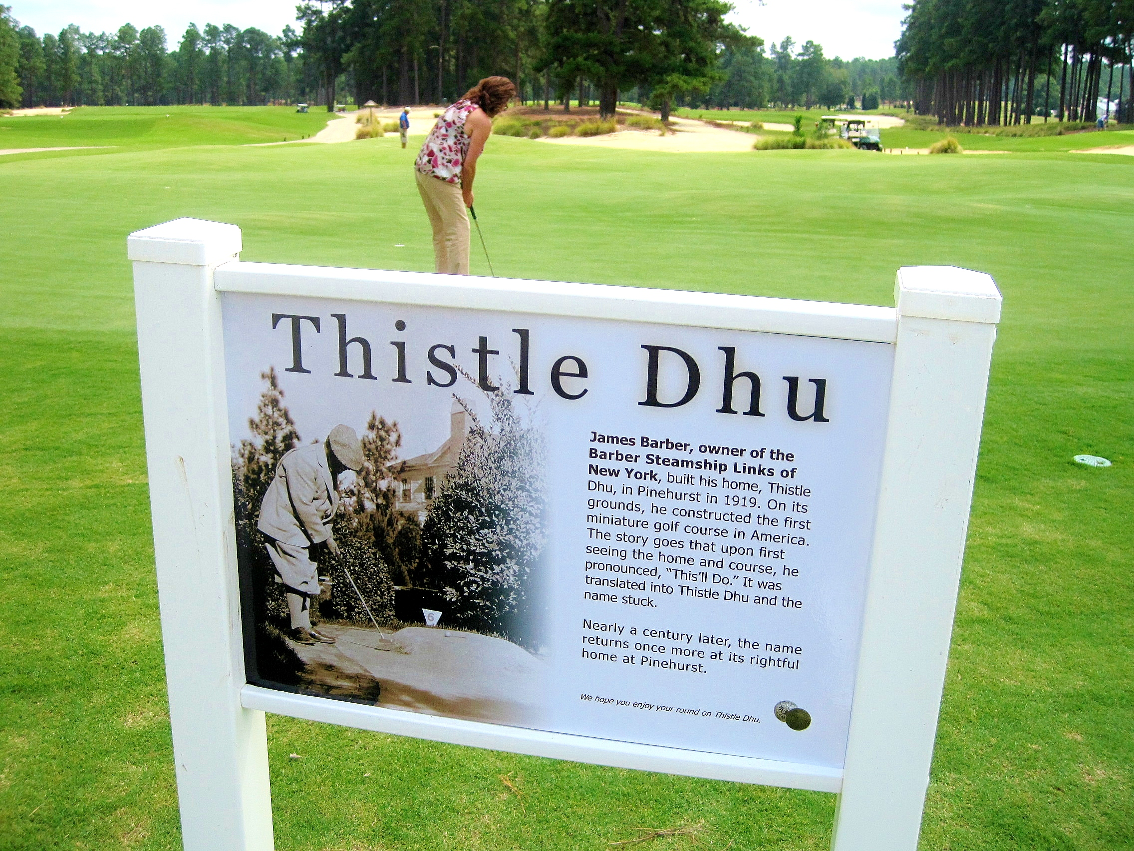 Thistle Dhu at Pinehurst