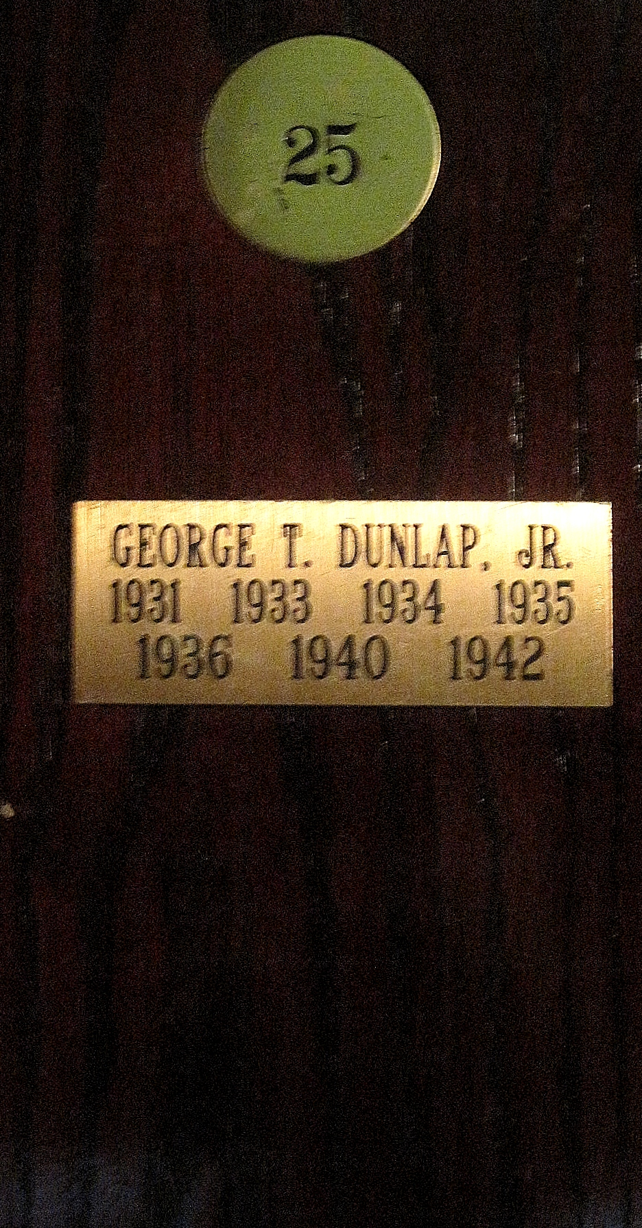 George Dunlap North and South Pinehurst