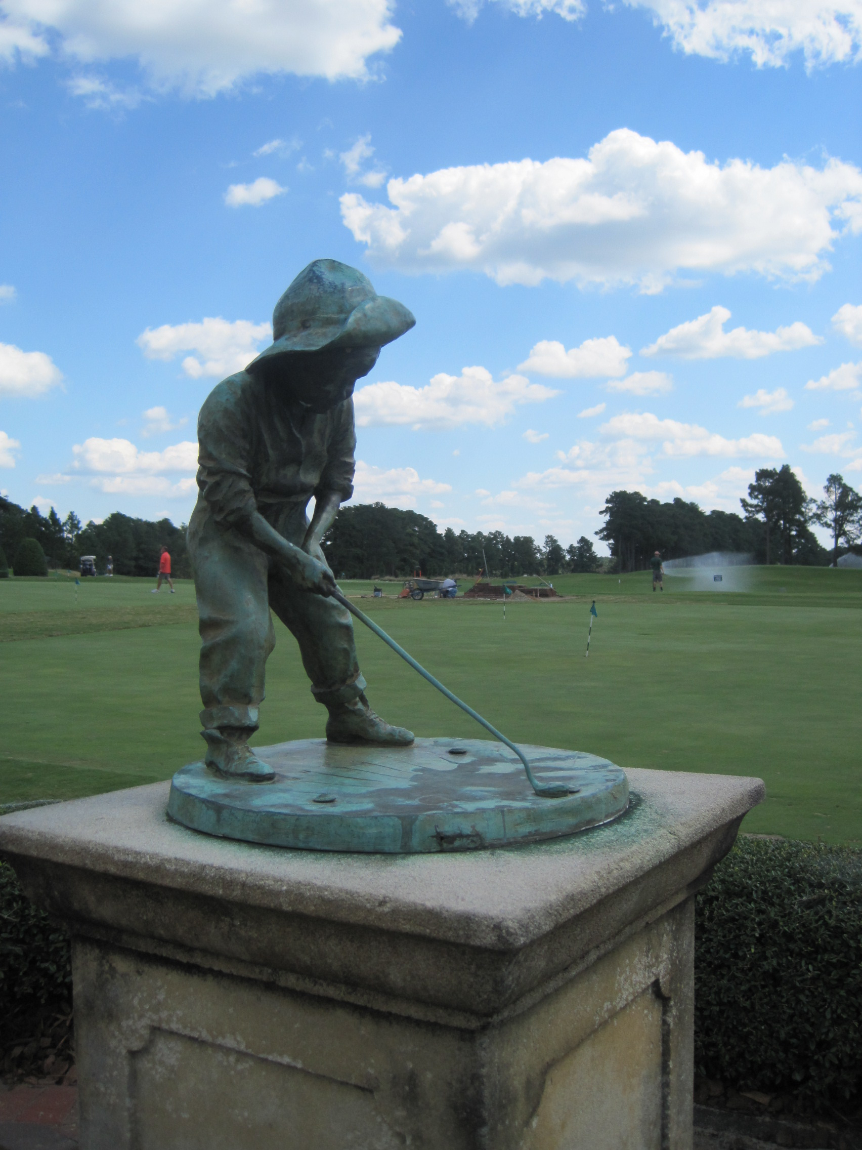 Pinehurst Putter Boy