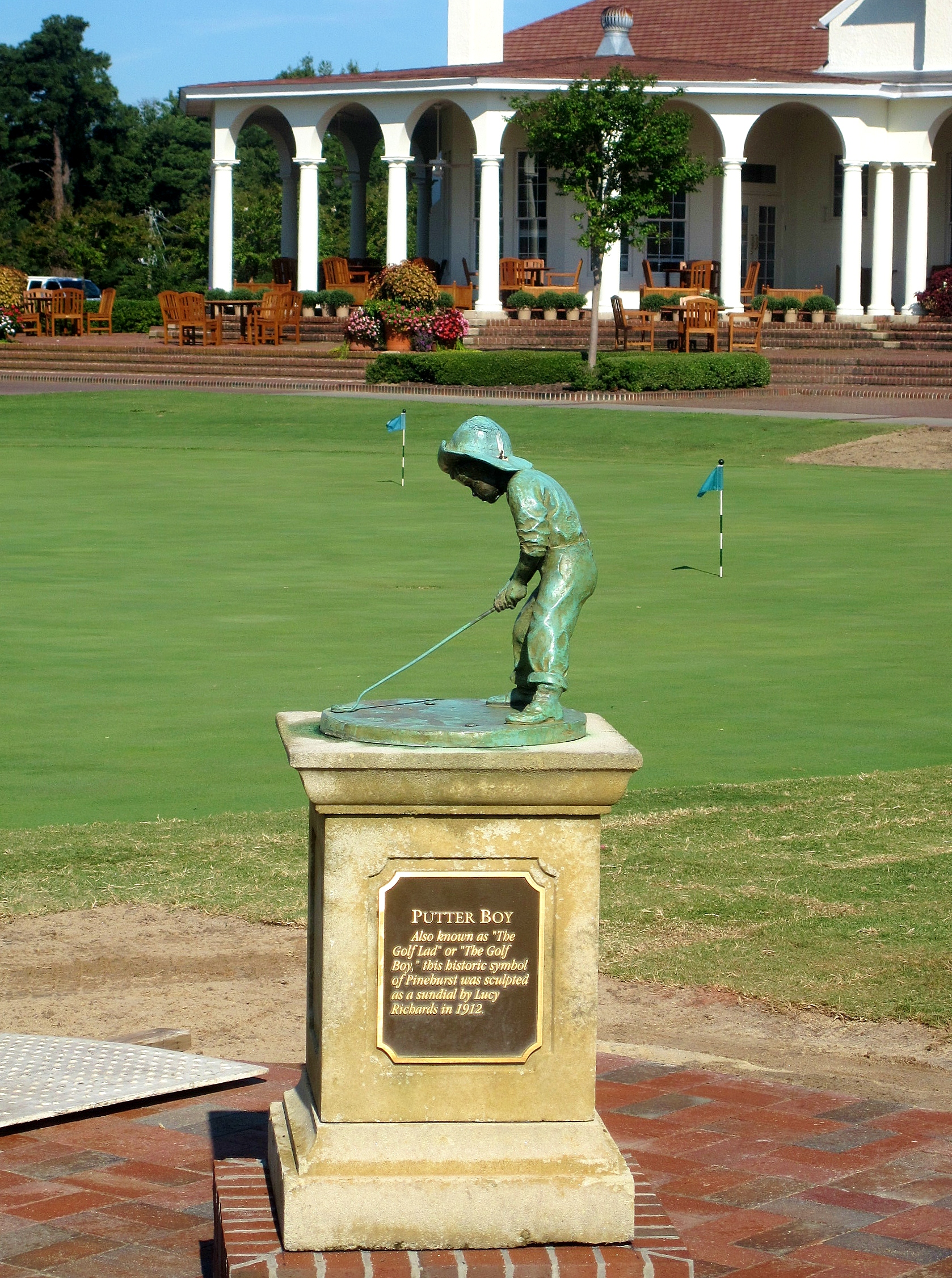 Pinehurst Putter Boy Home