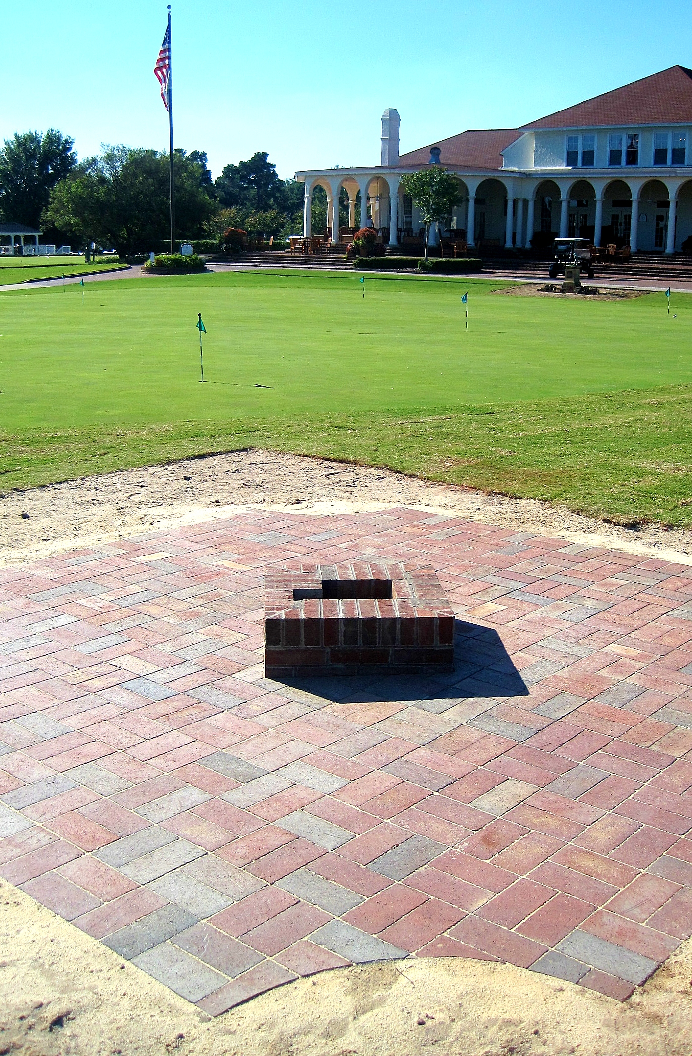 Pinehurst Putter Boy Moving Spot