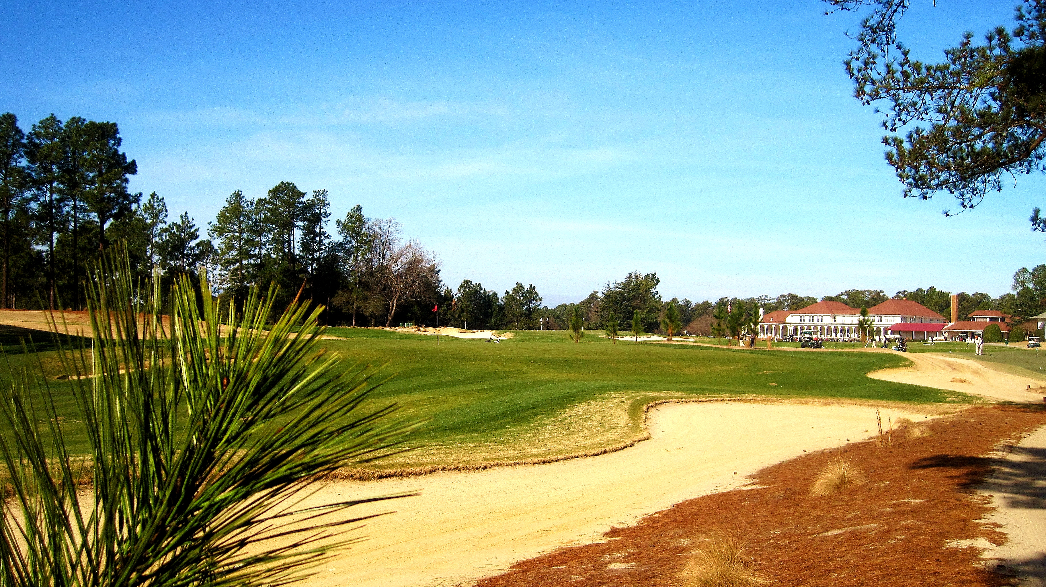 Pinehurst No. 4, 18th Hole