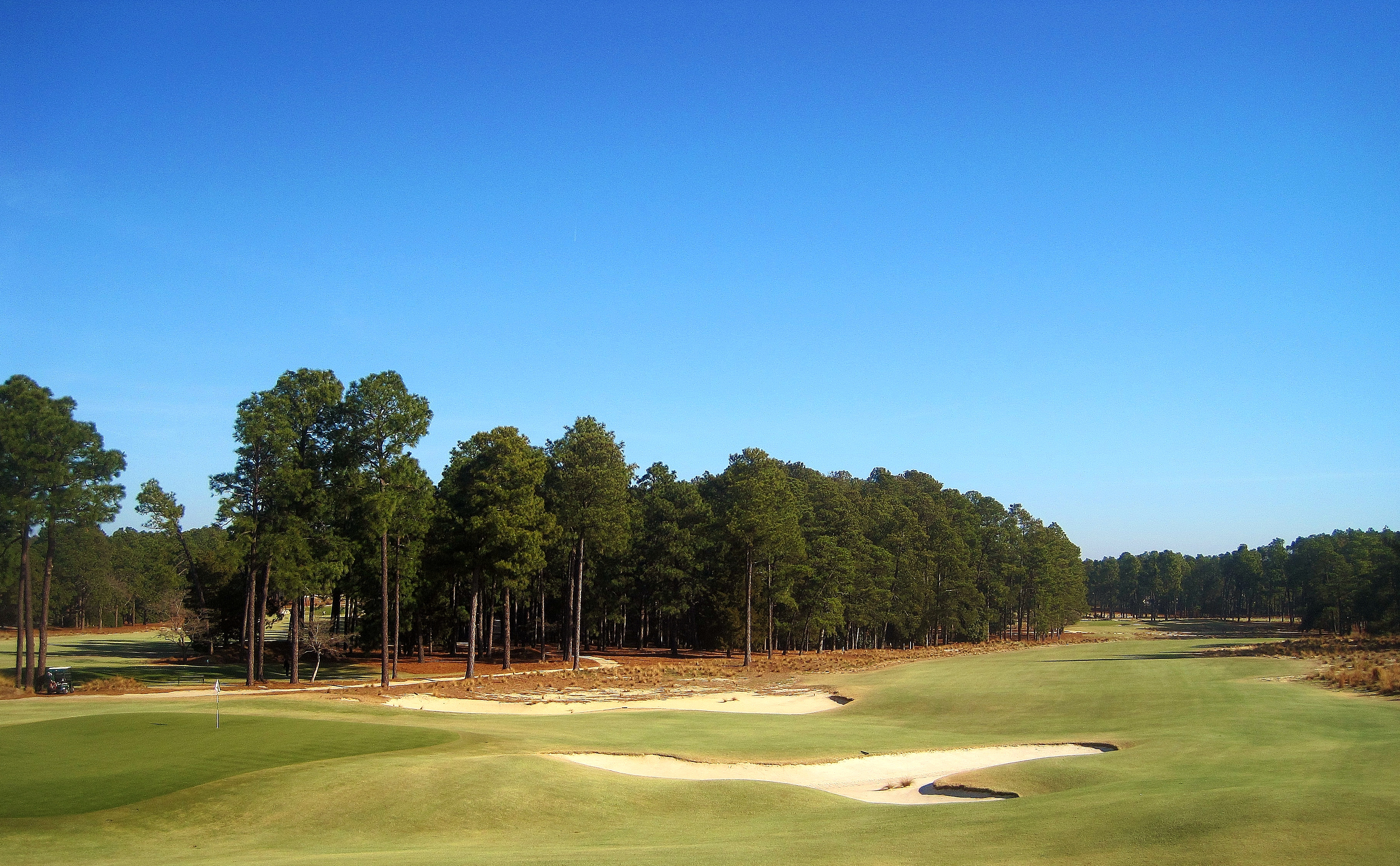Pinehurst No. 2, 18th Hole