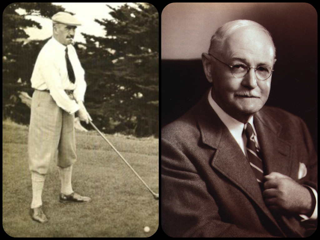 Alister MacKenzie and Donald Ross
