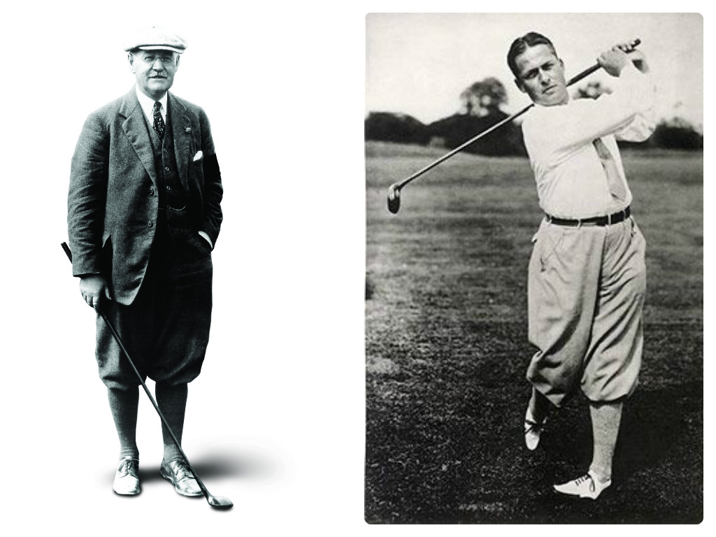 Donald Ross and Bobby Jones