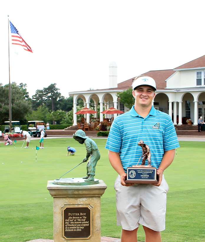 Andrew Dorn is the 2013 North & South Amateur Champion.