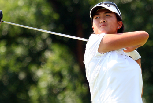 "Yueer ""Cindy"" Feng advanced to the 111th North & South semifinals at Pinehurst Resort."
