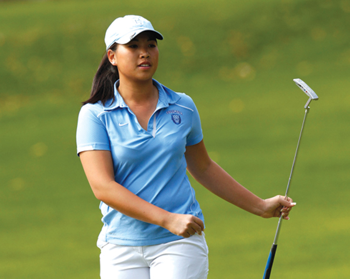 Columbia's Michelle Piyapattra advanced to the 111th North & South semifinals at Pinehurst Resort.