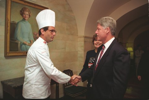Pinehurst Food & Wine Festival's featured guest chef is Walter Scheib, the former executive chef at the White House from 1994-2005.