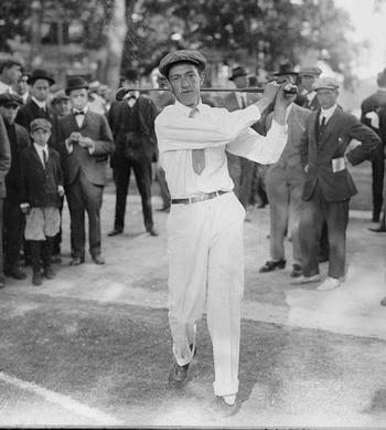Francis Ouimet, one of golf's early stars, won the North & South Amateur at Pinehurst.