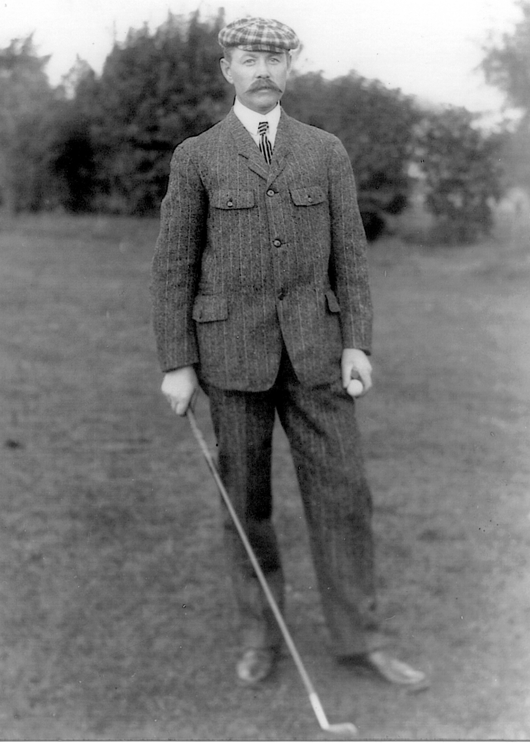 A young Donald Ross. Photo courtesy of the Tufts Archives